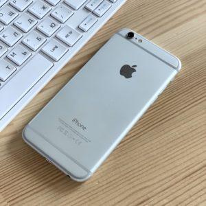 Apple iPhone 6 64 GB Silver; состояние – А - ТвойGadget