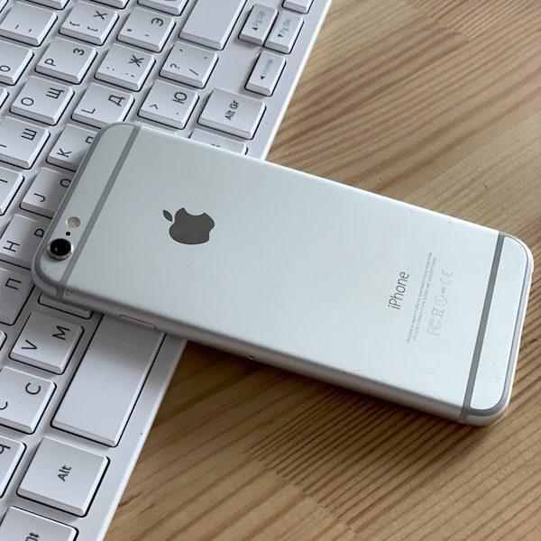 Apple iPhone 6 64 GB Silver Б/У состояние – А - ТвойGadget