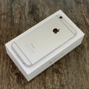 Apple iPhone 6 32 GB Silver; состояние – А - ТвойGadget