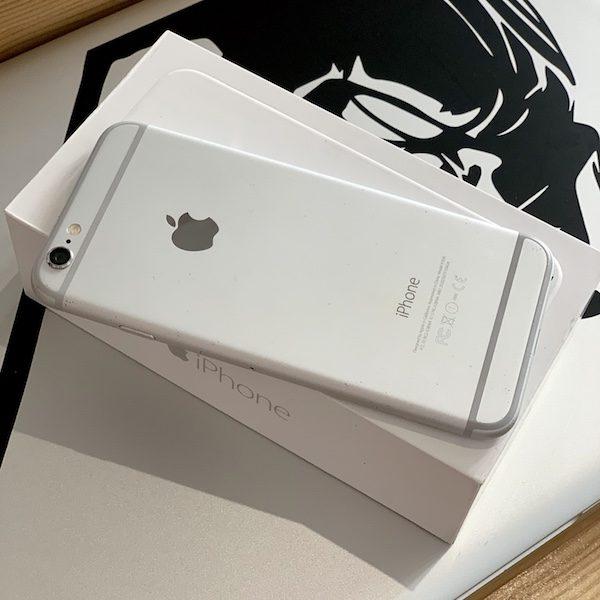 Apple iPhone 6 16 GB Silver Б/У состояние – А - ТвойGadget