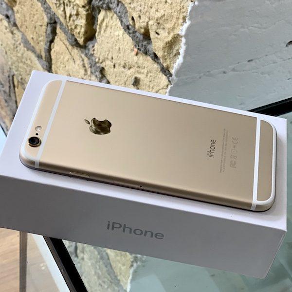 Apple iPhone 6 32 GB Gold Б/У состояние – А - ТвойGadget