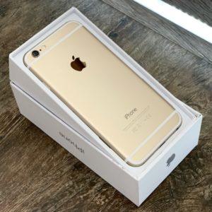 Apple iPhone 6 16 GB Gold; состояние – А - ТвойGadget