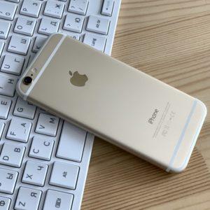 Apple iPhone 6 128 GB Gold; состояние – А - ТвойGadget