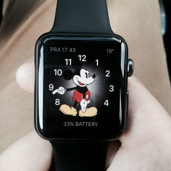 Apple Watch 38mm Space Gray Aluminum Series 2 (б/у) - ТвойGadget