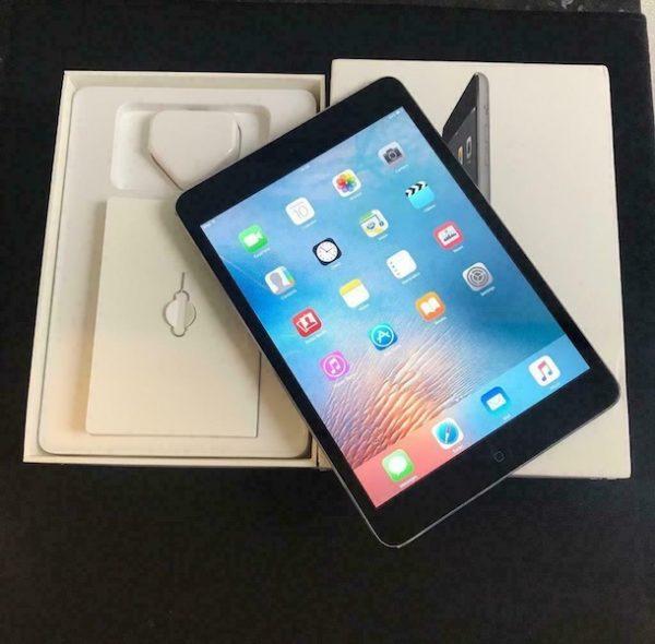 Apple iPad mini 2 Retina 16 GB WI-FI Space Gray; (б/у) - ТвойGadget