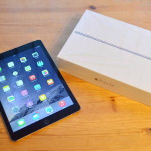 Apple iPad Air 128 GB WI-FI Black ; (б/у) - ТвойGadget
