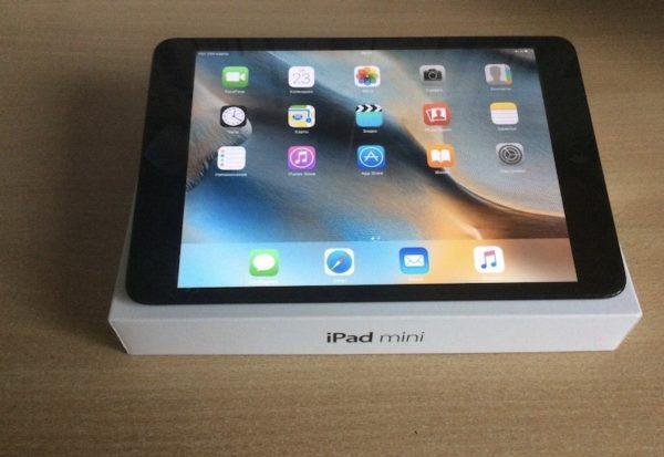 Apple iPad mini 64 GB WI-FI+LTE Black; (б/у) - ТвойGadget