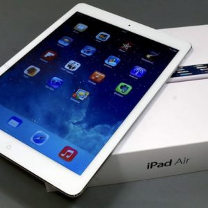 Apple iPad Air 128 GB WI-FI+LTE White ; (б/у) - ТвойGadget