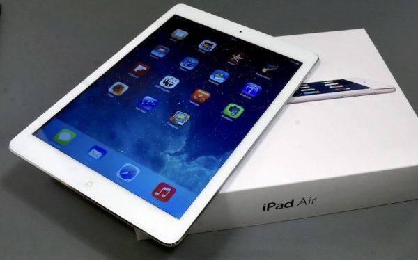 Apple iPad Air 128 GB WI-FI+LTE White ; (б/у) - ТвойGadget