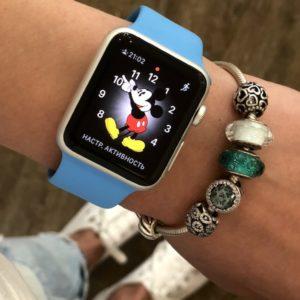 Apple Watch 38mm Silver Aluminum 7000 Series (б/у) - ТвойGadget