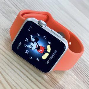 Apple Watch 42mm Silver Aluminum Series 2 (б/у) - ТвойGadget