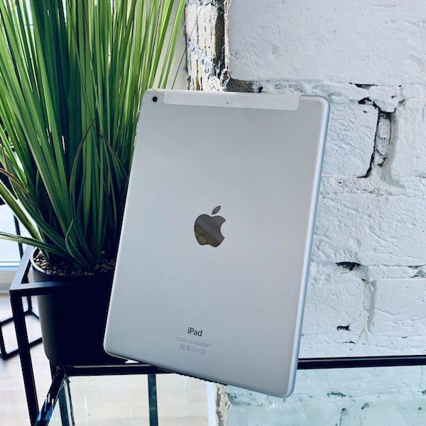 Apple iPad Air 2 64 GB WI-FI+LTE Silver ; (б/у) - ТвойGadget