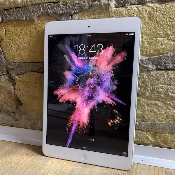 Apple iPad mini 2 Retina 64 GB WI-FI+LTE Silver; (б/у) - ТвойGadget