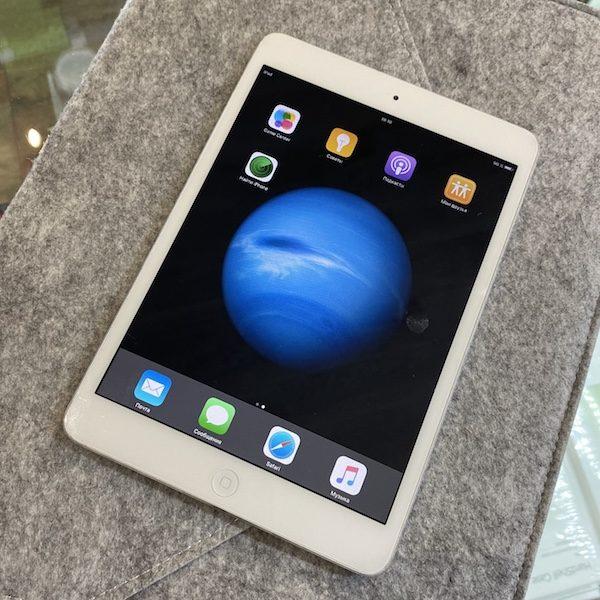 Apple iPad mini 32 GB WI-FI+LTE Silver; (б/у) - ТвойGadget