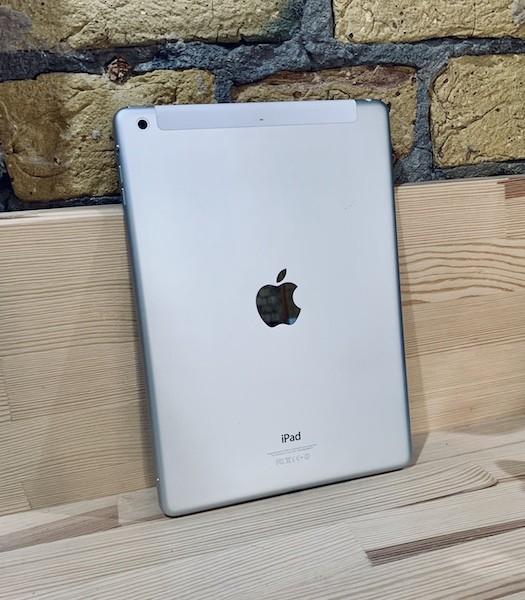 Apple iPad Air 2 128 GB WI-FI+LTE Silver ; (б/у) - ТвойGadget