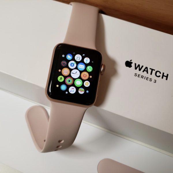 Apple Watch 42mm Rose Gold Aluminum Series 3 (б/у) - ТвойGadget