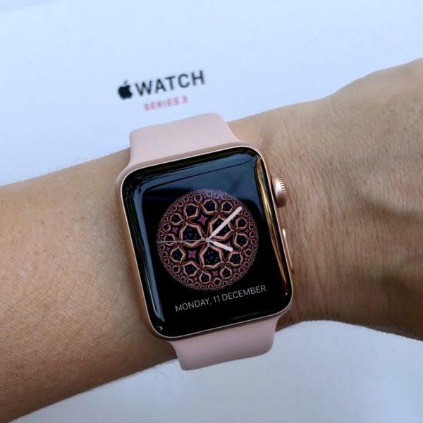 Apple Watch 38mm Rose Gold Aluminum Series 3 (б/у) - ТвойGadget