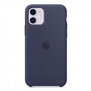 Чехол iPhone 11 Silicone Case Midnight Blue - ТвойGadget