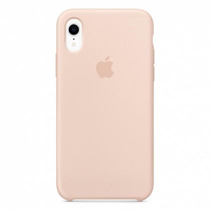 Чехол iPhone XR Silicone Case Pink Sand - ТвойGadget