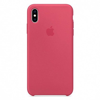 Чехол iPhone XS Max Silicone Case Hibiscus - ТвойGadget