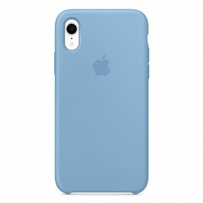 Чехол iPhone XR Silicone Case Cornflower - ТвойGadget