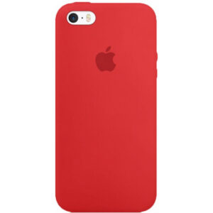 Чехол iPhone SE Silicone Case Cherry - ТвойGadget