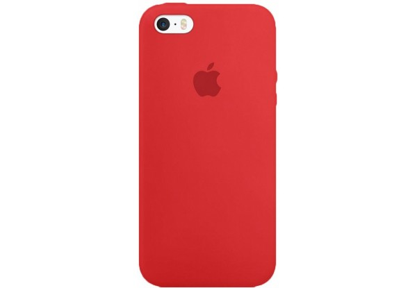 Чехол iPhone SE Silicone Case Cherry - ТвойGadget