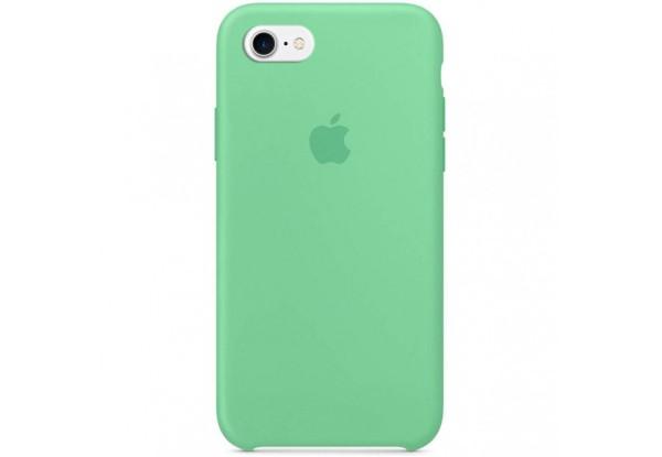 Чехол iPhone SE Silicone Case Spearmint - ТвойGadget