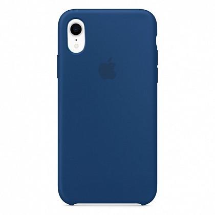Чехол iPhone XR Silicone Case Delft Blue - ТвойGadget