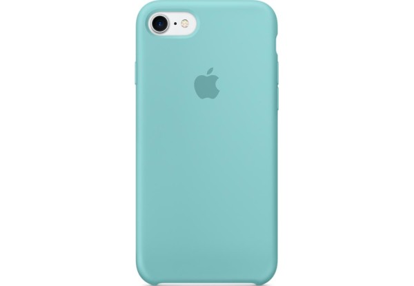 Чехол iPhone SE Silicone Case Sea Blue - ТвойGadget