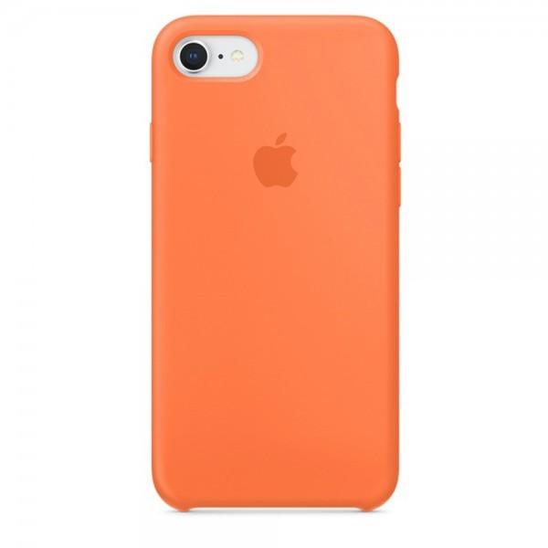 Чехол iPhone SE Silicone Case Apricot - ТвойGadget