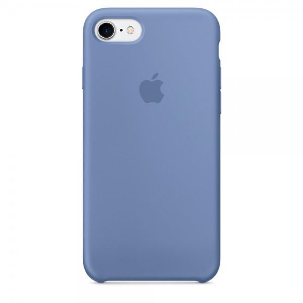 Чехол iPhone SE Silicone Case Azure - ТвойGadget
