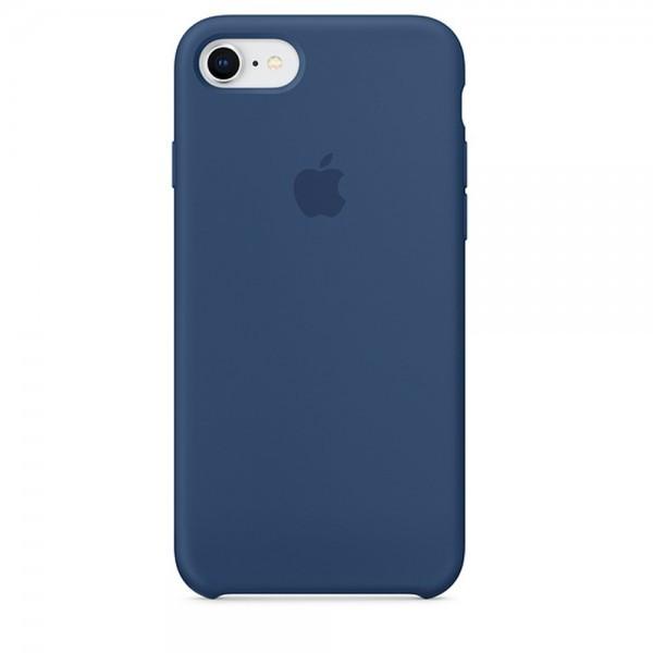 Чехол iPhone SE Silicone Case Blue Cobalt - ТвойGadget