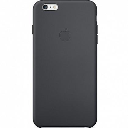 Чехол iPhone SE Silicone Case Black - ТвойGadget