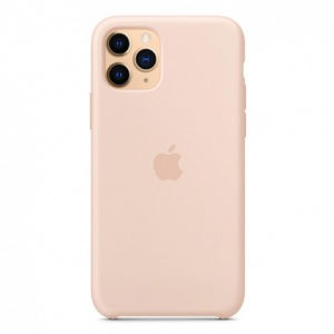 Чехол iPhone 11 Pro Silicone Case Pink Sand - ТвойGadget