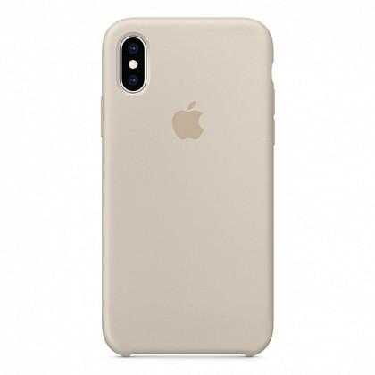 Чехол iPhone XS Silicone Case Stone - ТвойGadget