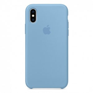 Чехол iPhone XS Silicone Case Cornflower - ТвойGadget