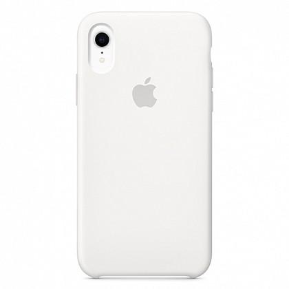 Чехол iPhone XR Silicone Case White - ТвойGadget