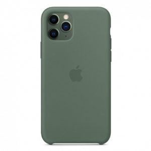 Чехол iPhone 11 Pro Silicone Case Pine Green - ТвойGadget
