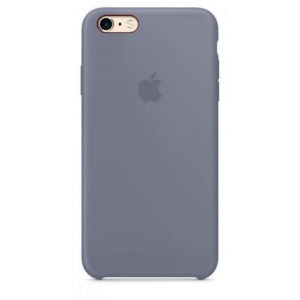 Чехол iPhone SE Silicone Case Lavender Gray - ТвойGadget