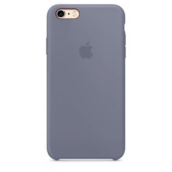 Чехол iPhone SE Silicone Case Lavender Gray - ТвойGadget