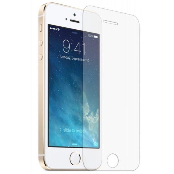 Защитное стекло 2D для iPhone SE - ТвойGadget