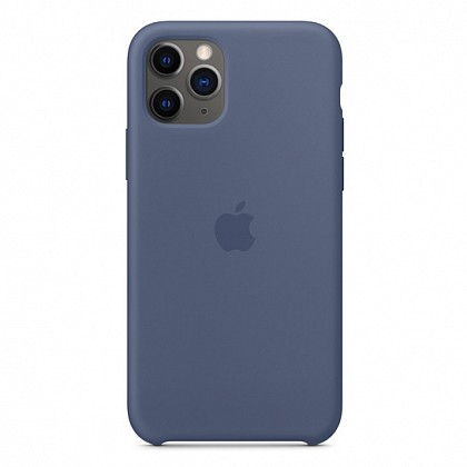 Чехол iPhone 11 Pro Max Silicone Case Midnight Blue - ТвойGadget