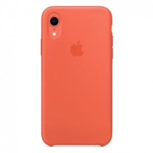 Чехол iPhone XR Silicone Case Nectarine - ТвойGadget