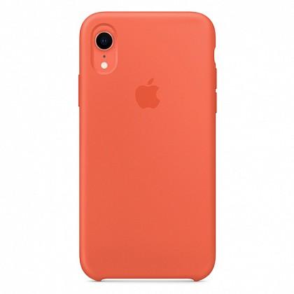 Чехол iPhone XR Silicone Case Nectarine - ТвойGadget
