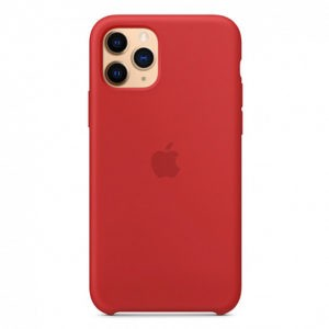Чехол iPhone 11 Pro Silicone Case (Product) Red - ТвойGadget