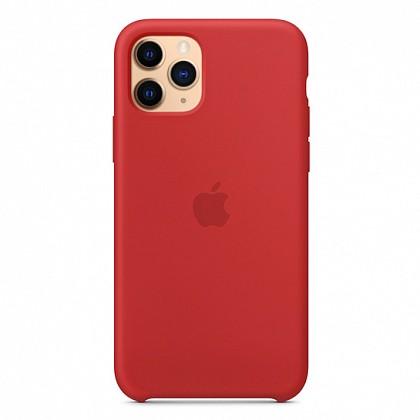 Чехол iPhone 11 Pro Max Silicone Case (Product) Red - ТвойGadget