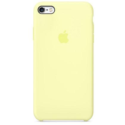 Чехол iPhone SE Silicone Case Mellow Yellow - ТвойGadget