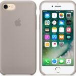 Чехол iPhone 8/7 Silicone Case Mist Blue - ТвойGadget