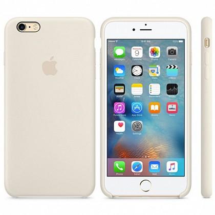 Чехол iPhone 6s Plus Silicone Case Antique White - ТвойGadget